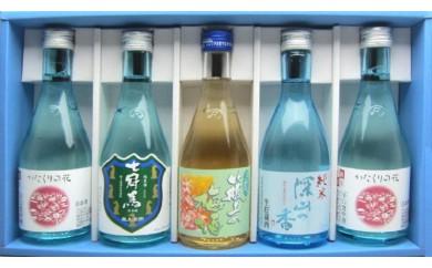B9-5簸上清酒「飲みくらべセット」5本