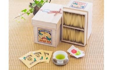 C-24  高品質日本茶ティーバッグ3g×100p(桐箱入り)【10,000pt】