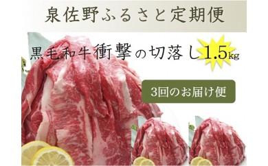 D039 泉佐野ふるさと定期便 No.1【3ヶ月】