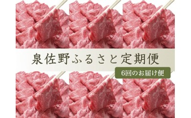 I006 泉佐野ふるさと定期便 No.10【6ヶ月】