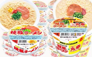 A5-010 「焼豚ラーメン×丸幸ラーメン」と「焼豚ラーメン」セット