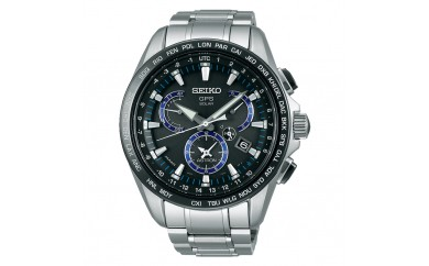 SEIKO アストロン デュアルタイムSBXB101 ブラック(GPSソーラーウォッチ)