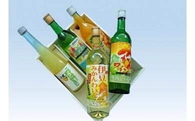 B006 みかんワインとリキュール酒セット