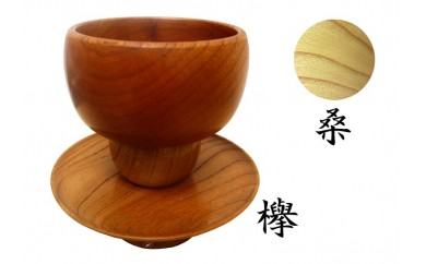 C-78 里御器の抹茶碗と貴人台(天目台)【3pt】