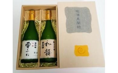 B-20 老舗酒蔵の銘酒セット【2pt】