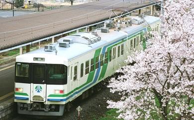 [№5730-0166]【阿武隈急行】あぶQウォーク年間参加券と1回分乗車券セット