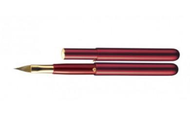 (354)熊野筆 携帯用リップブラシ(ラウンド型コンパクトサイズ)