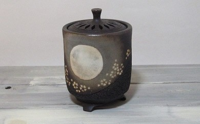 T06-2 炭化象嵌(ぞうがん)香炉