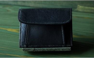 011-002 本藍染イタリアンレザーのコインケース
