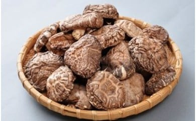A29060 国東産の肉厚干し椎茸(冬菇)&乾燥きくらげ・通