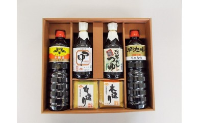 【087】 佐々長醸造味道楽セット