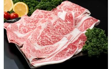 【B-27】増量!(数量限定)佐賀県産黒毛和牛 ローススライス(500g)