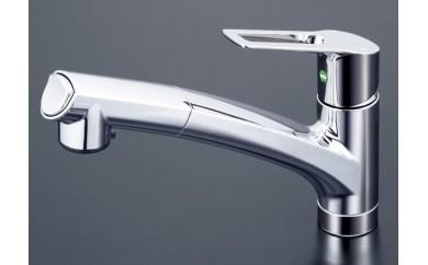 キッチン用シングルレバー式シャワー混合水栓[K0031]