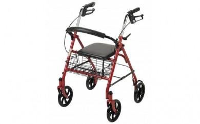 [№5712-0133]使いやすい高さ調節ができる歩行車【PiacereUno (ピアチェーレウノ) 10257RD-1】