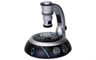 [№5712-0118]ターンテーブル付き!パソコンと接続して観察する100倍マルチアングル顕微鏡セット【Do・Nature Advance STV‐A100M3D】