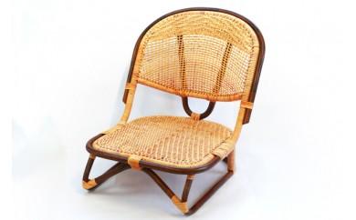 29-0822 【現代の名工作品】籐製脚付き座椅子【88000pt】