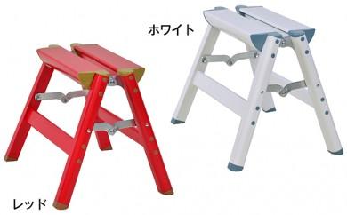 [№5712-0110]耐荷重100kg!軽量で丈夫なアルミ踏み台【ケンコーハセガワ アルミ踏み台 IS-30】
