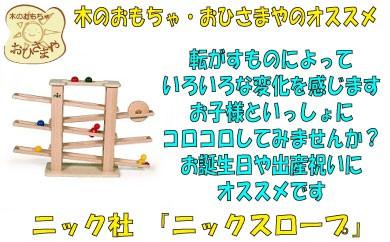 F009.木のおもちゃ・ニックスロープ