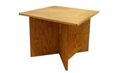 ~自然と人が調和する家具シリーズ(4)~【桧材と杉材のテーブル】