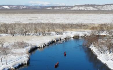 [№5766-0057]冬の釧路湿原満喫ワンデープラン(ランチ付) 1名様分