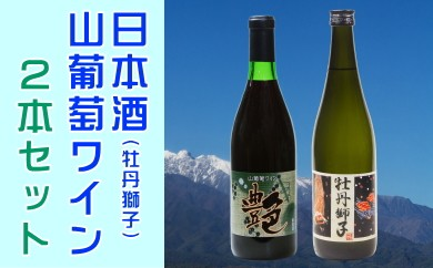 A-19 日本酒・山葡萄ワインセット