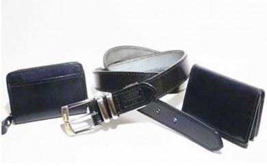 [№5641-0331]ビジネス3点セット≪ブラック≫ベルト幅30mm・35mm・40mm