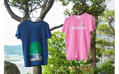 【B005】 オネマヒナ オリジナルTシャツ【ピンクM】&ステッカー