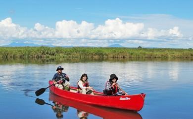 [№5766-0064]釧路湿原カヌーツーリング 朝の静けさを・・モーニングカヌー