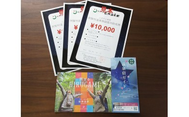 E03-阿智村温泉施設 宿泊助成券