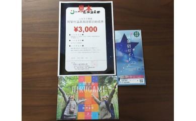 18-阿智村温泉施設 宿泊助成券