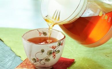 [№5873-0212]有機黒麹発酵茶「山吹撫子」ペットボトル1ケース