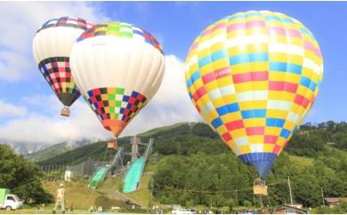C020-06 熱気球係留体験(ファミリー)