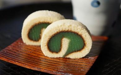 【A-10】緑のあんこタルト(なかにし菓子舗 大西町)  0.5P