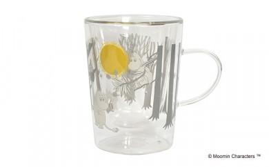 MOOMIN ダブルウォールガラスマグカップ