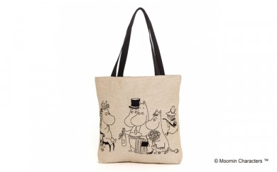 MOOMIN ゴブラン織りトートバッグ(ムーミンフェスタ)
