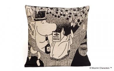 【ムーミン基金限定】MOOMIN ゴブラン織りクッションカバー(ムーミンパパ)