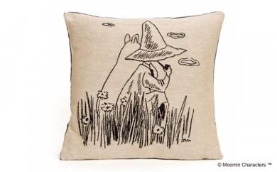 【ムーミン基金限定】MOOMIN ゴブラン織りクッションカバー(ムーミン&スナフキン)