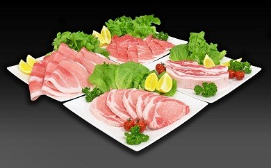 MA-1128_都城産ポーク「どんぐりの恵み」食べ比べ4.0kgセット