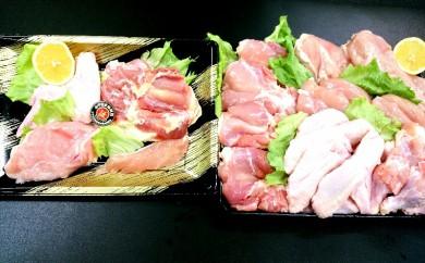 MA-0148_都城産宮崎地頭鶏・宮崎県産若鶏セット