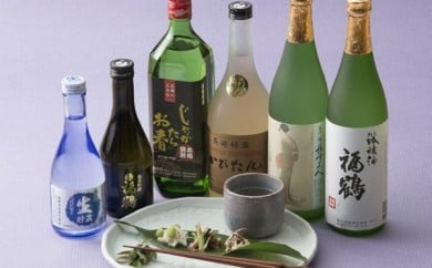 H120 福鶴純米吟醸・福鶴生酒【3,500pt】