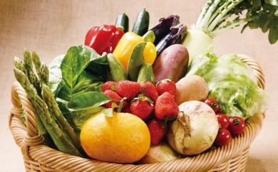 H039 安心の地元野菜と果物のお任せセット【3,000pt】