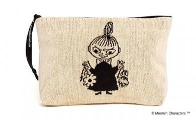 MOOMIN ゴブラン織りポーチ(リトルミイ)
