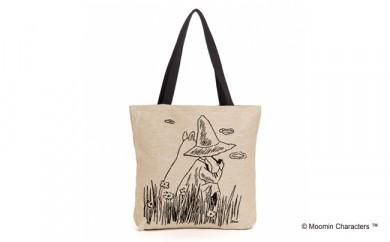 MOOMIN ゴブラン織りトートバッグ(ムーミン&スナフキン)