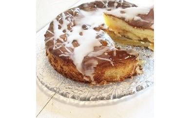 1-206 しっとりと美味しいリンゴのケーキ