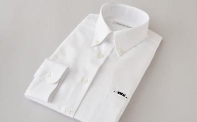 [№5636-0104]くまモンHITOYOSHIシャツ(白)婦人用