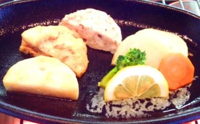 10-12 三種の海鮮ステーキセット