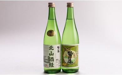 【八幡平老舗酒蔵】鷲の尾日本酒 金印・北山酒経(吟醸酒)セット