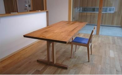 甘楽木工房オーダー家具(テーブル、イス)