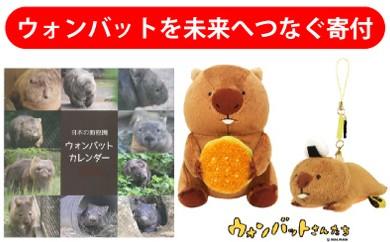 【24-03】動物園 ウォンバット グッズセット B