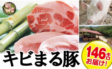 1105 沖縄キビまる豚3頭分 アラカルトセット(146kg)